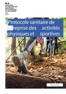 Protocole sanitaire de reprise des activités physiques et sportives